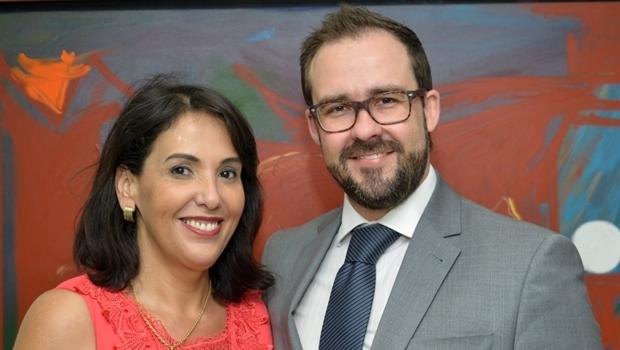 Simone Gomes e o presidente Lúcio Flávio | Foto: OAB Que Queremos