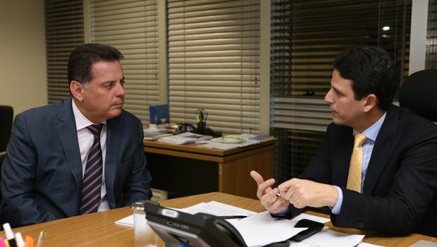 Marconi solicita verba federal para finalizar obras em Goiás