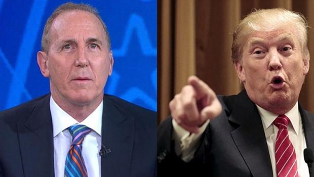 Tony Schwartz e Donald Trump: o primeiro é o verdadeiro autor do livro que o segundo diz ter escrito como um guia para o futuro dos Estados Unidos | Fotos: reprodução