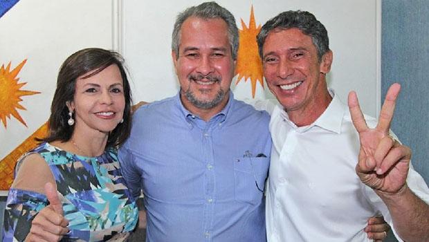Professora Dorinha, Marcão e Raul Filho