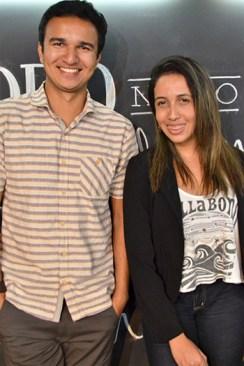 """Os empreendedores Lorran Souza e Gracielle Guedes, da Agência Maristo: """"O Sebrae tem muito auxiliado as empresas inovadoras e inovar, hoje, é também uma maneira de fugir da crise"""""""