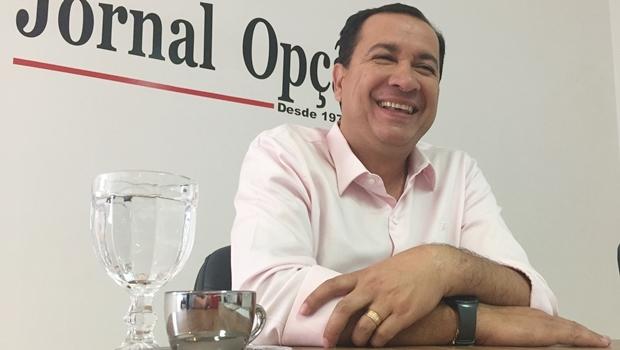 Hildo do Candango durante entrevista ao Jornal Opção