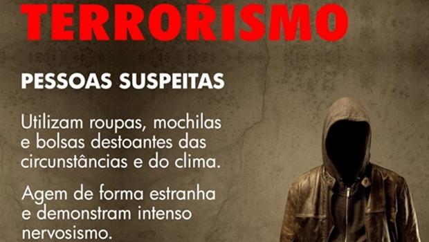 Abin gera polêmica ao definir suspeitos de terrorismo por roupas e jeito de agir