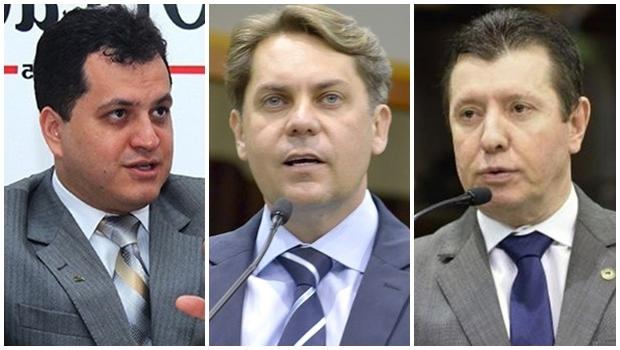 PMDB deve confirmar os nomes de Agenor Mariano, Bruno Peixoto e José Nelto como pré-candidatos do partido para Goiânia | Fotos: Fernando Leite / Divulgação Assembleia Legislativa de Goiás