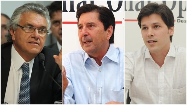 Maguito Vilela, Daniel Vilela e Ronaldo Caiado: a disputa de 2018 começa com crise política em Jataí