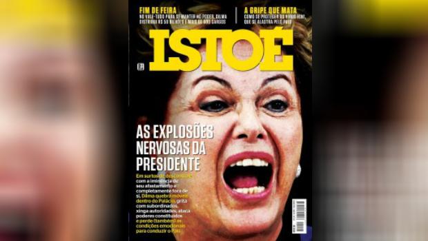 Após série de ataques a Dilma, Justiça condena revista IstoÉ