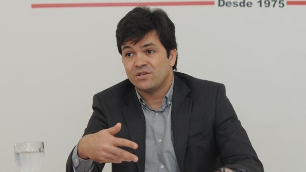 Secretário de Saúde Fernando Machado (PMDB) é investigado na Operação SOS Samu | Foto: Renan Acciolly / Jornal Opção