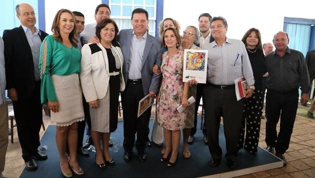 O lançamento da 18ª edição do Fica foi na cidade de Goiás | Reprodução/Goiás Agora