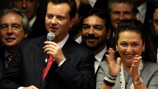 Gilberto Kassab e Kátia Abreu: ele continua no ministério, ela saiu mas acredita que Dilma Rousseff retorna à Presidência