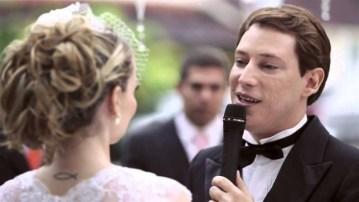 Casamento de Bianca Toledo e Felipe Heiderich, em 2014| Reprodução