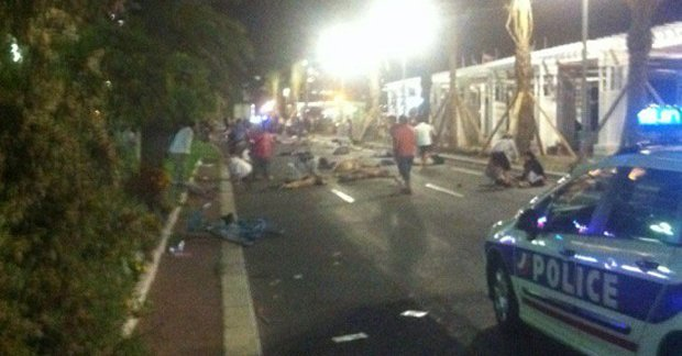 Imagens do atentado são compartilhadas pelo Twitter | Reprodução: Twitter