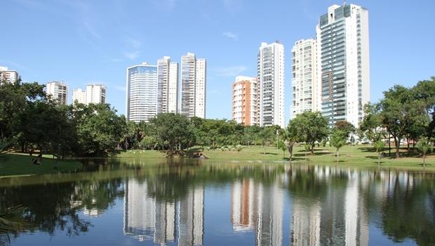 Parque Flamboyant, em 2015 | Foto: Ângela Macário/ Prefeitura de Goiânia
