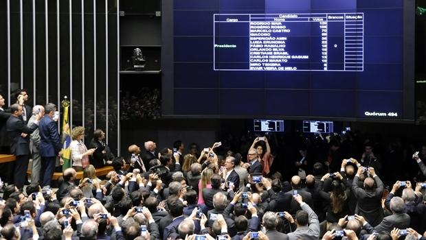 Placar do primeiro turno da eleição   Foto: Maryanna Oliveira