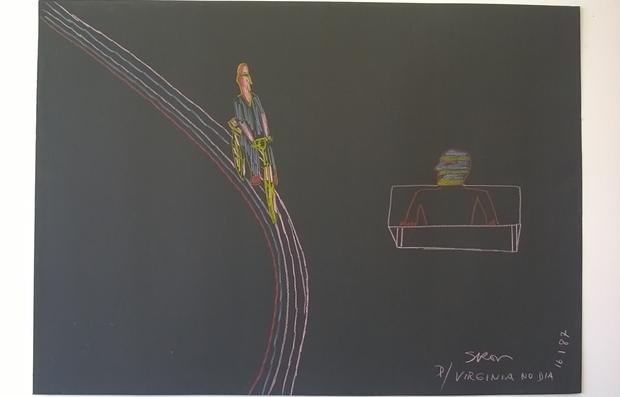 Serigrafia de Siron Franco