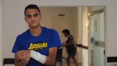 Morador de Senador Canedo, Thiago Amorim, diz nunca ter tido qualquer problema ao ser atendido na cidade   Foto: Renan Accioly