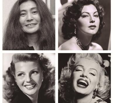 Yoko Ono, Ava Gardner, Rita Hayworth e Marilyn Monroe: seduziram homens ricos e famosos (como John Lennon e Sinatra)
