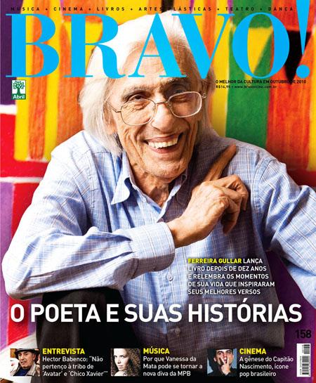 """Uma boa notícia cultural é o relançamento da revista """"Bravo!"""". A pergunta é: vai durar?"""