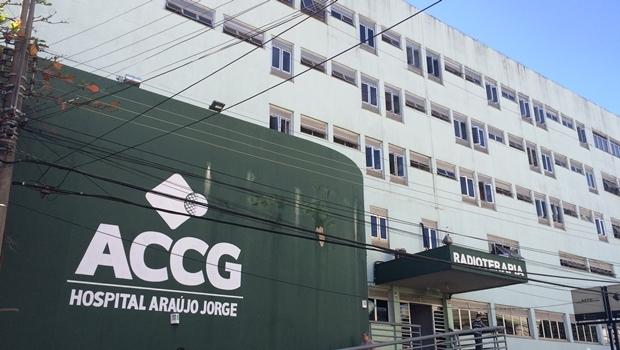 Hospital Araújo Jorge  | Foto: Larissa Quixabeira