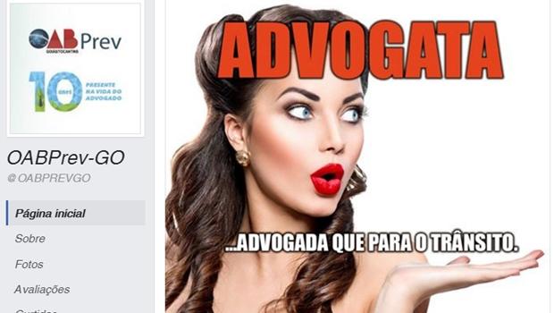 """OAB-Prev causa polêmica ao fazer """"homenagem"""" machista a mulheres advogadas"""