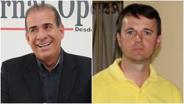 Candidatos Carlão (PSDB) e Miller (PSD): atual prefeito vai mal na pesquisa