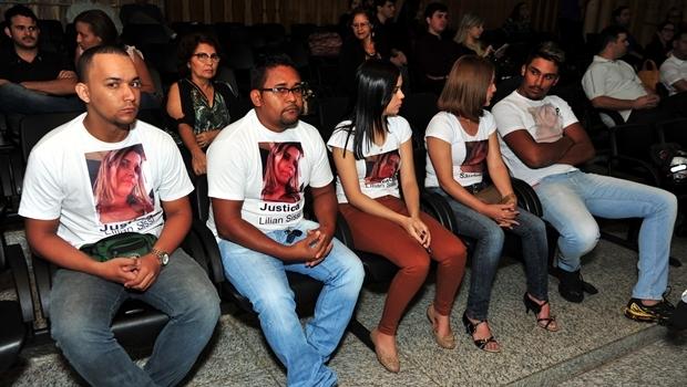 Família de Lilian Sissi assiste a julgamento de Tiago Henrique Gomes da Rocha, acusado de homicídio | Foto: Hernany César – Centro de Comunicação Social)