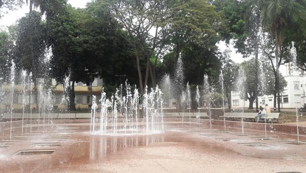 Fontes luminosas integram programa de revitalização da Praça Cívica | Foto: Divulgação