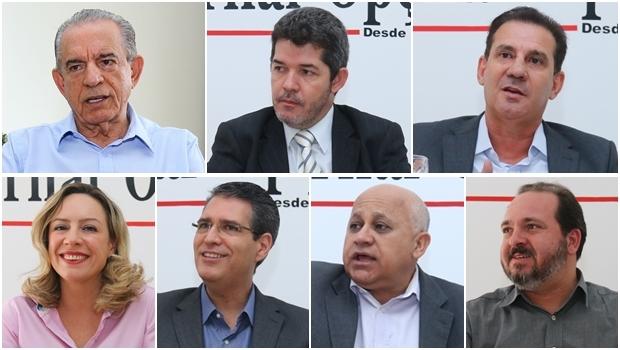 Candidatos a prefeito de Goiânia se enfrentam pela primeira vez a uma semana da eleição