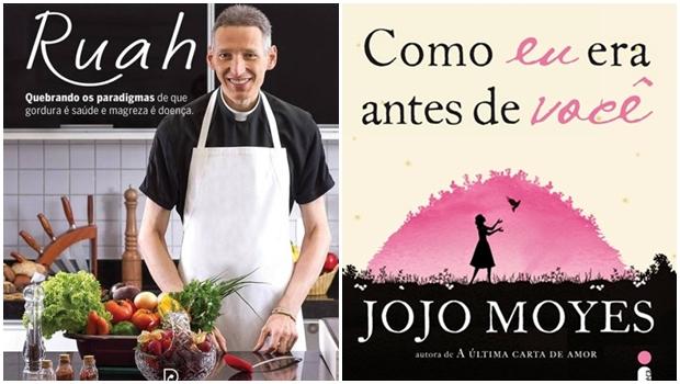 10 livros mais vendidos no Brasil no primeiro semestre de 2016