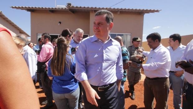 Governador elogiou qualidade das casas do residências | Foto: Reprodução
