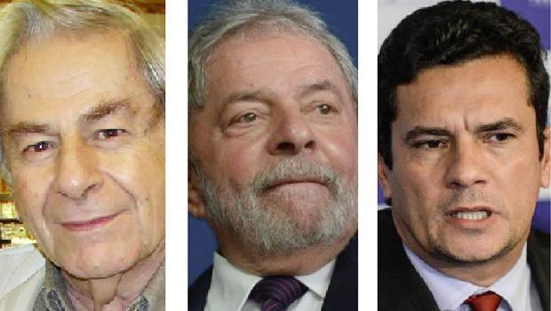 """Raduan Nassar, Lula da Silva e Sergio Moro: o primeiro desanca o terceiro para defender o segundo, que, sugere artigo publicado na """"Folha de S. Paulo"""", está acima da lei e não pode ser investigado. O genial escritor comporta-se como um Pangloss dos tristes trópicos"""