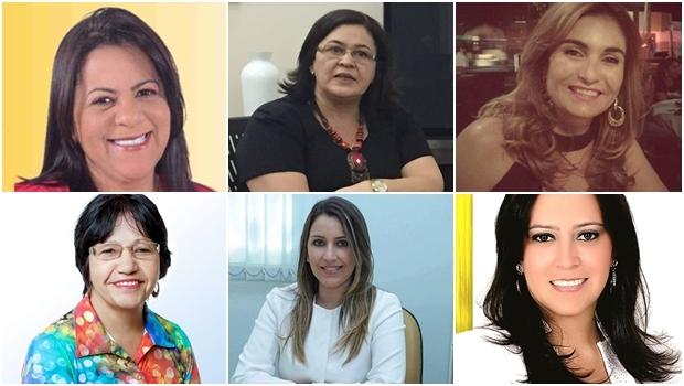 Solange Bertulino/Uruaçu; Selma Bastos/Goiás; Ludmila/Ipameri; Cleide do Gulla's/Pires do Rio; Ellen de Lima/Piracanjuba; Dra. Flavia/Mineiros | Fotos: Divulgação/ Reprodução