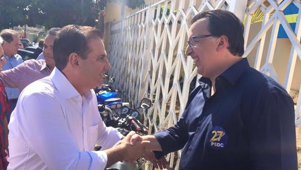 Alexandre Magalhães desiste de candidatura para apoiar Vanderlan em Goiânia
