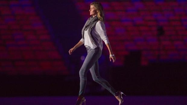 A top Gisele Bündchen será uma das estrelas da cerimônia | Foto: Alex Ferro/Rio 2016