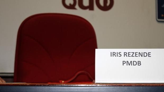 Iris Rezende falta a mais um debate da Rádio 730