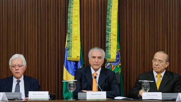 Presidente Michel Temer durante reunião do conselho do PPI. | Foto: Carolina Antunes/PR