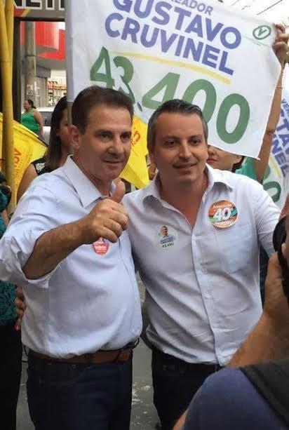 Vanderlan Cardoso e Gustavo Cruvinel: aliados e trabalhando juntos