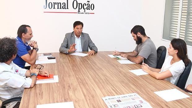 """Prefeito de Aparecida de Goiânia, Maguito Vilela: """"Acho que não votaria pelo impeachment, justamente porque não ficou nada provado contra a presidenta Dilma"""""""