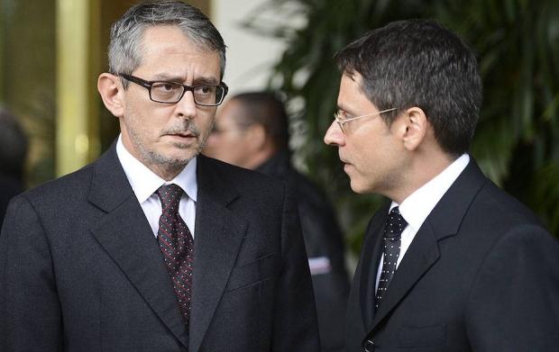 Otavio Frias Filho e Luís Frias: os irmãos que dirigem a Folha de S. Paulo; o segundo comanda o UOL