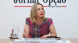 Adriana Accorsi: é sua bandeira de campanha reviver o Cidadão 2000, projeto criado na gestão de seu pai | Foto: Fernando Leite/Jornal Opção