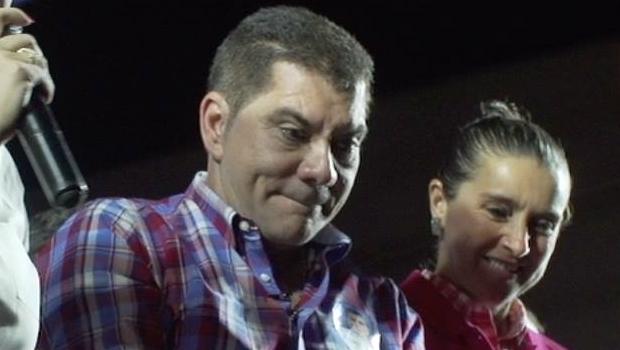 Prefeito reeleito Carlos Amastha