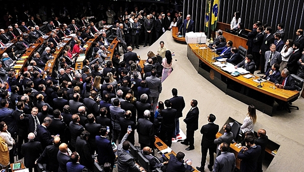 Sessão da Câmara decidiu que houve quebra de decoro parlamentar por Cunha | Foto: Luis Macedo / Câmara dos Deputados