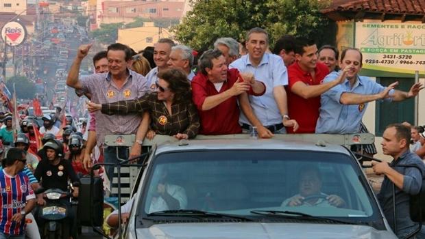Momentos antes o atentado: Gugu Nader (à dir.) assistiu a tudo | Foto: reprodução