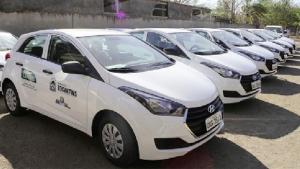 Veículos entregues pelo Governador ao Ruraltins | Foto: Divulgação