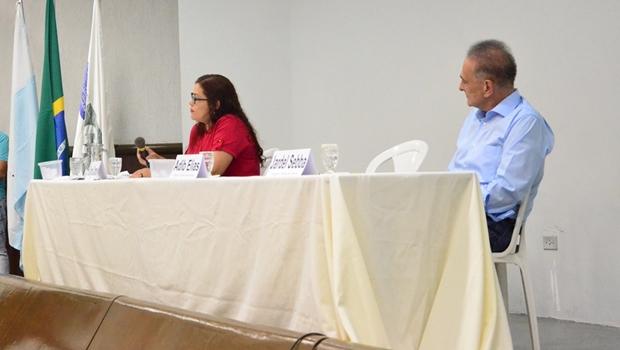 Debate foi realizado pelo Sindilojas de Catalão | Foto: Reprodução