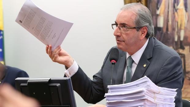 Cunha na Comissão de Ética: muitos documentos para o livro   Foto Lula Marques/Agência PT