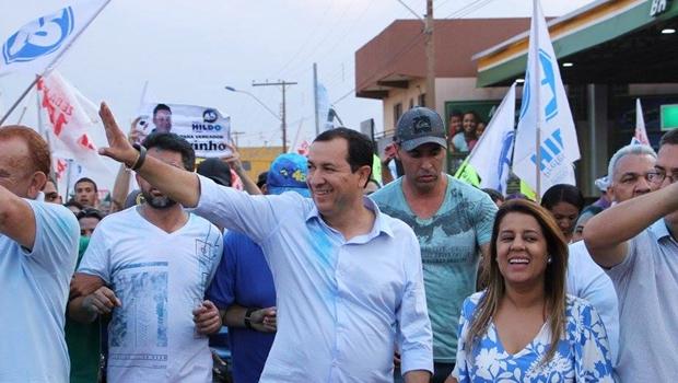 Hildo lidera com folga disputa pela prefeitura de Águas Lindas