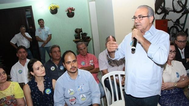 Candidato percorreu regiões importantes de Trindade e se reuniu com lideranças da área da Saúde, Educação e Cultura | Foto: Divulgação