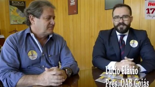 """""""Ao fazer o vídeo, Lúcio Flávio feriu princípio de isonomia"""", afirma advogado"""