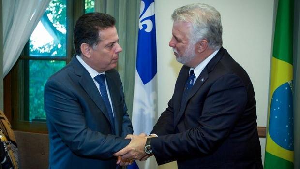 Marconi e primeiro-ministro do Quebecfazem acordo de intercâmbio cultural