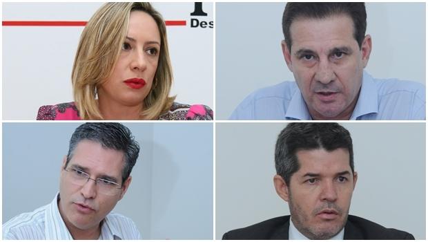 Vanderlan Cardoso, do PSB, Waldir Soares, do PR, Adriana Accorsi, do PT, e Francisco Júnior, do PSD: por que não dar uma chance de o novo mostrar  se tem mesmo algum valor?